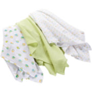 Summer Infant® SwaddleMe® 3-pk. Muslin Blankets - Apple Pie