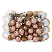 Aris by Treska Multi-Row Stretch Bracelet
