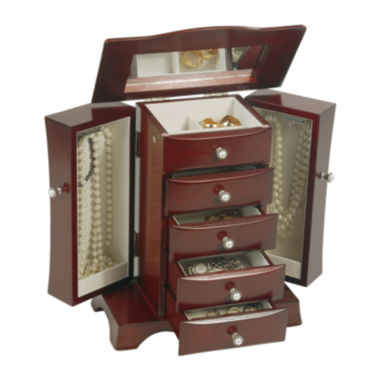 jcpenney.com | Mele & Co. Bette Wooden Jewelry Box