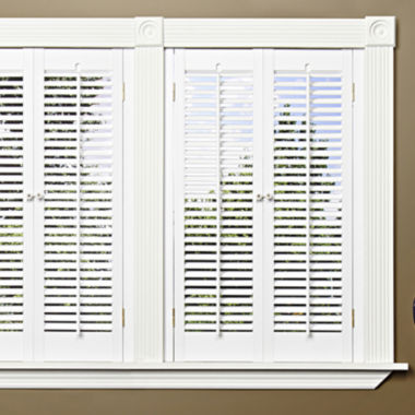 jcpenney.com | Faux-Wood Traditional Shutters - 2 Panels