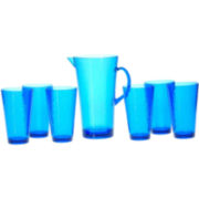 7-pc. Acrylic Drinkware Set
