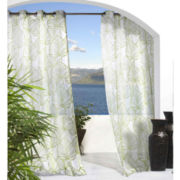 Biscayne Indoor/Outdoor Grommet-Top Sheer Panel