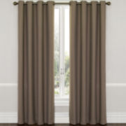 Eclipse® Westbury Grommet-Top Blackout Curtain Panel with Thermaweave