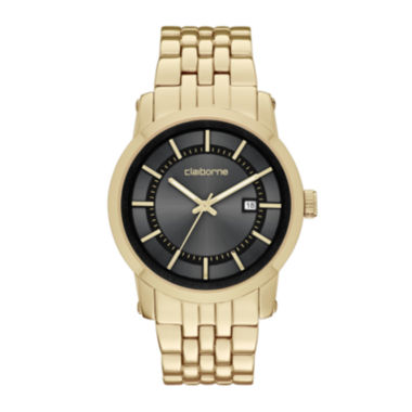 jcpenney.com | Claiborne® Mens Gold-Tone Watch