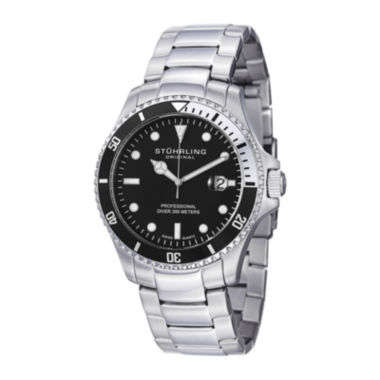 jcpenney.com | Stührling® Original Mens Stainless Steel Watch