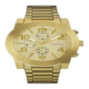 Caravelle New York® Mens Gold-Tone Stainless Steel Sport Watch