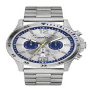 Caravelle New York® Mens Stainless Steel Sport Watch