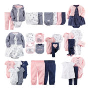 Carter's® Navy Pink Bike Baby Essentials Collection - Girls