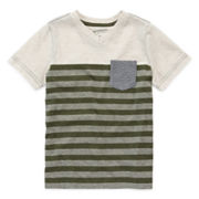 Arizona Striped Pocket Tee - Preschool Boys 4-7