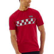 Vans® Foxing Checkers Graphic Tee