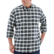 The Foundry Supply Co.™ Easy-Care Checked Oxford - Big & Tall