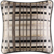 "Queen Street® Skyline 18"" Square Decorative Pillow"