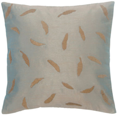 "jcpenney.com | BiniChic Foscari Tossed Leaf 16"" Square Decorative Pillow"