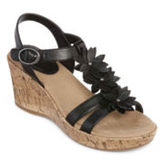 Yuu™ Roonie Wedge Sandals