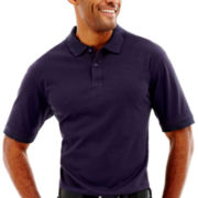 Haggar® Mini-Box Polo Shirt