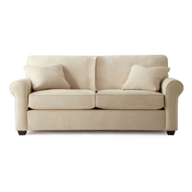 "jcpenney.com | Possibilities Roll-Arm 75"" Full Sleeper Sofa"