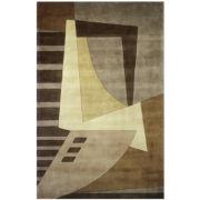 Wave Wool Rectangular Rugs