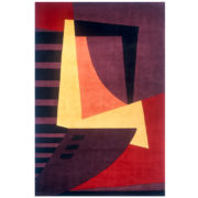 Wave Wool Rectangular Rugs