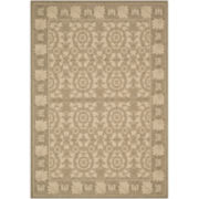 Courtyard Leaf Indoor/Outdoor Rectangular Rugs