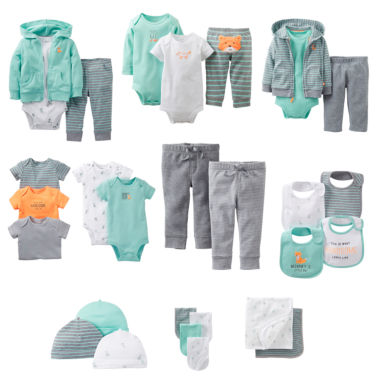 jcpenney.com | Carter's® Sly Little Guy Layette Collection - Boys