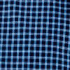 Blue Black Checked