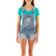 Wallflower Denim Shortalls