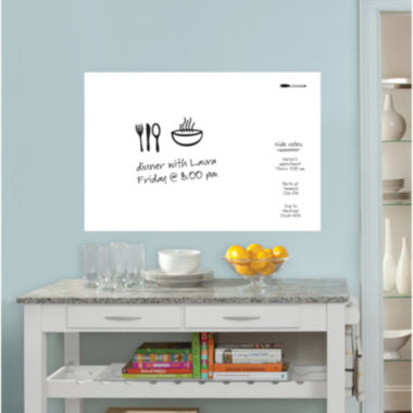 jcpenney.com | Large Whiteboard Dry-Erase Wall Decal