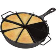 Cooks 2-pc. Cast Iron Cornbread Skillet Set