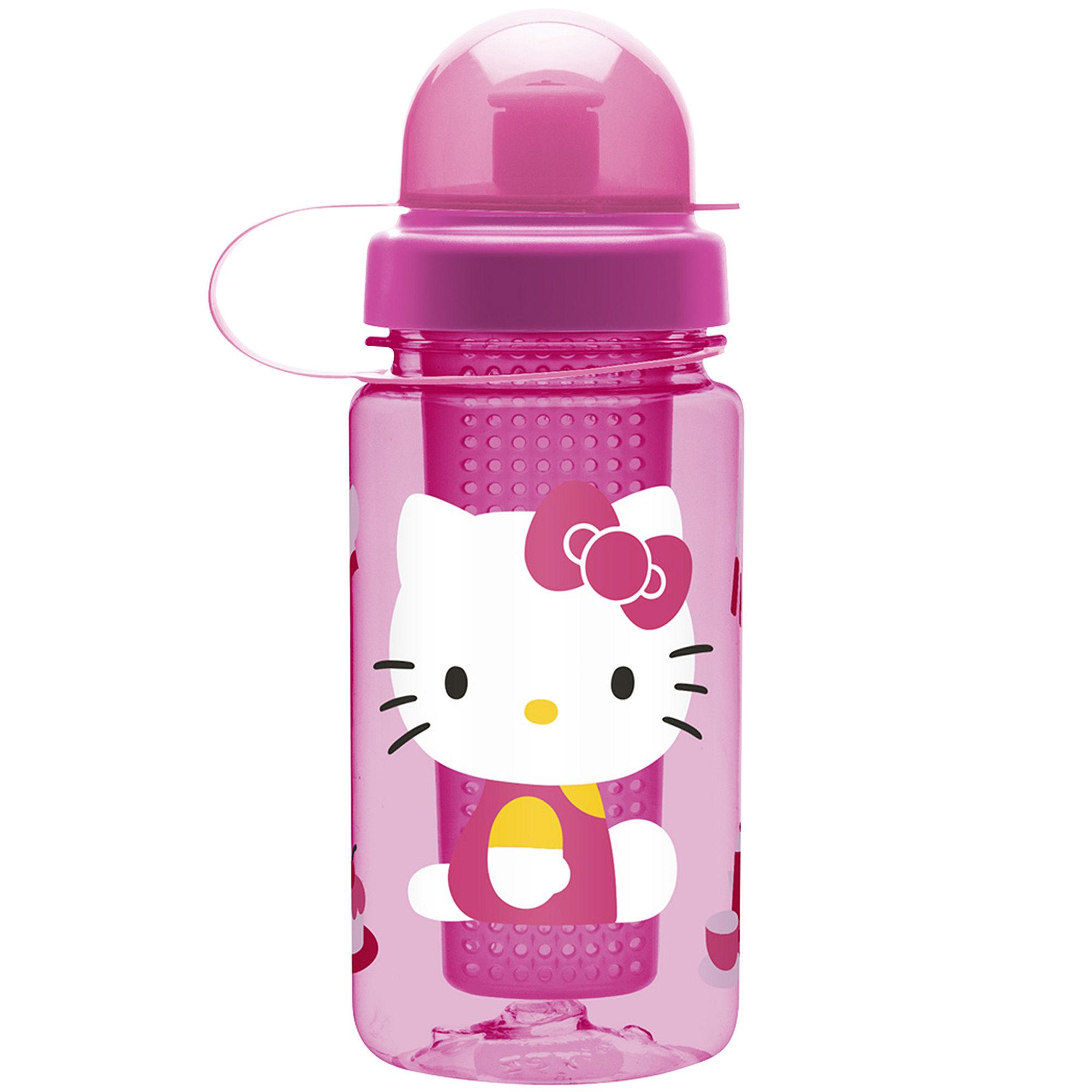 Zak Designs Hello Kitty 15-oz. Healthy by Design Infuser Bottle