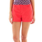 jcp Twill Shorts