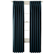 Liz Claiborne® Kathryn Pinch-Pleat/Back-Tab Room-Darkening Curtain Panel