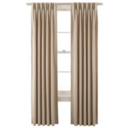 Royal Velvet® Kathryn Pinch-Pleat/Back-Tab Room-Darkening Curtain Panel