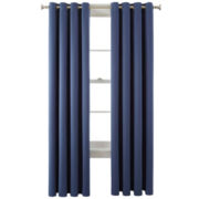 Royal Velvet® Kathryn Brights Grommet-Top Room-Darkening Curtain Panel