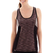Xersion™ Space-Dyed Colorblock Tank Top - Tall