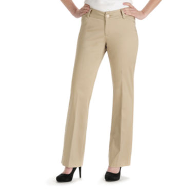 jcpenney.com | Lee® Curvy Twill Trousers - Tall