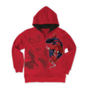 Spider-Man Full-Zip Fleece Hoodie - Boys 8-20