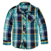 Arizona Long-Sleeve Woven Shirt - Preschool Boys 4-7