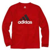 adidas® Long-Sleeve Athletic Tee - Boys 8-20