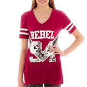 City Streets® Short-Sleeve Tunic T-Shirt