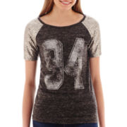Arizona Short-Sleeve Sequin Baseball T-Shirt