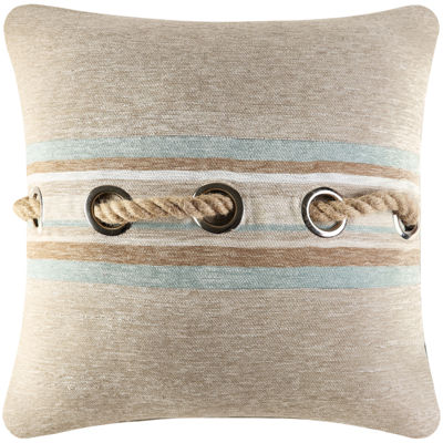 "Queen Street® Nantucket 18"" Square Decorative Pillow"