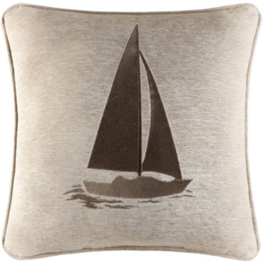 "jcpenney.com | Queen Street® Nantucket 20"" Square Decorative Pillow"