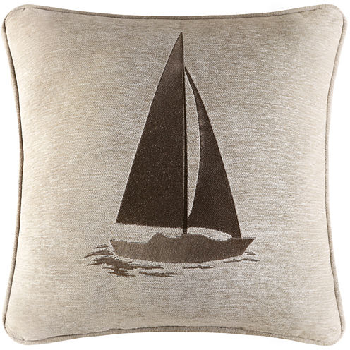 "Queen Street® Nantucket 20"" Square Decorative Pillow"