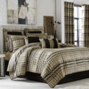 Queen Street® Skyline Chenille Plaid 4-pc. Comforter Set