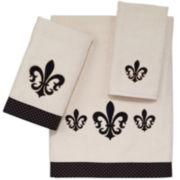 Avanti Luxembourg Fleur-de-lis Bath Towels