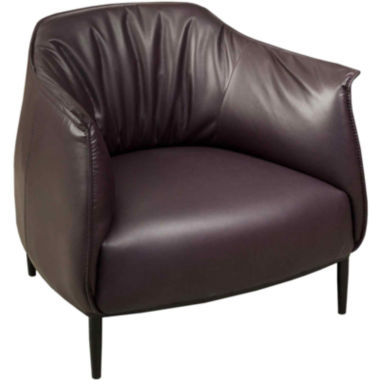 jcpenney.com | Valentino Bonded Leather Accent Chair