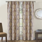 Richloom Couture 2-Pack Rod-Pocket Curtain Panels