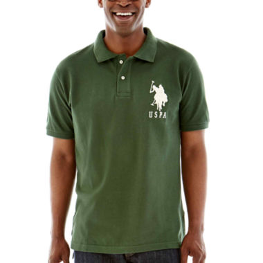 jcpenney.com | U.S. Polo Assn.® Short-Sleeve Big Pony Piqué Polo