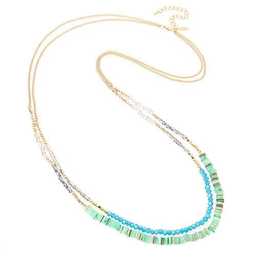 Natasha Accessories Beaded Necklace