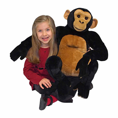 Melissa & Doug® Chimpanzee - Plush
